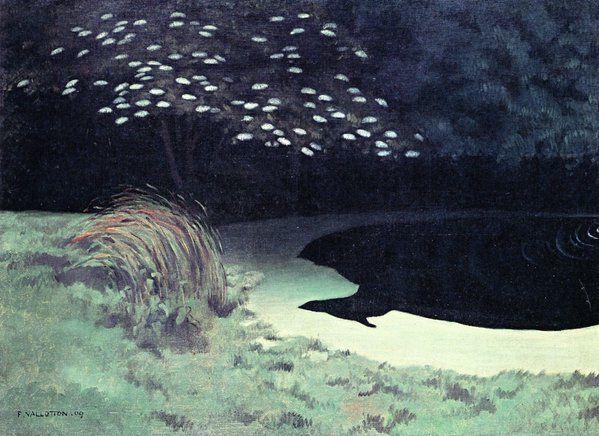Félix Vallotton「The Pond」(1909)