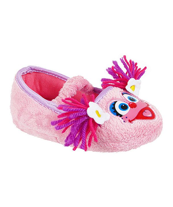 Take a look at this Pink Abby Cadabby Slippers on zulily today!