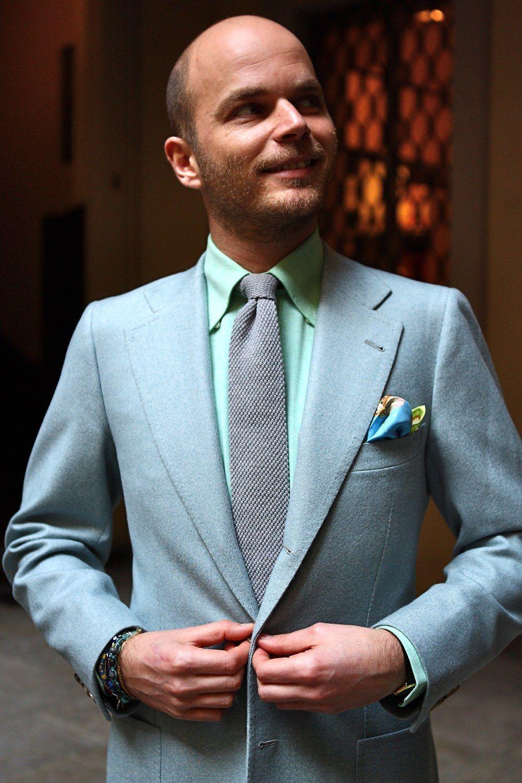 Soft color combinations suit rubinacci men style | Wedding ...