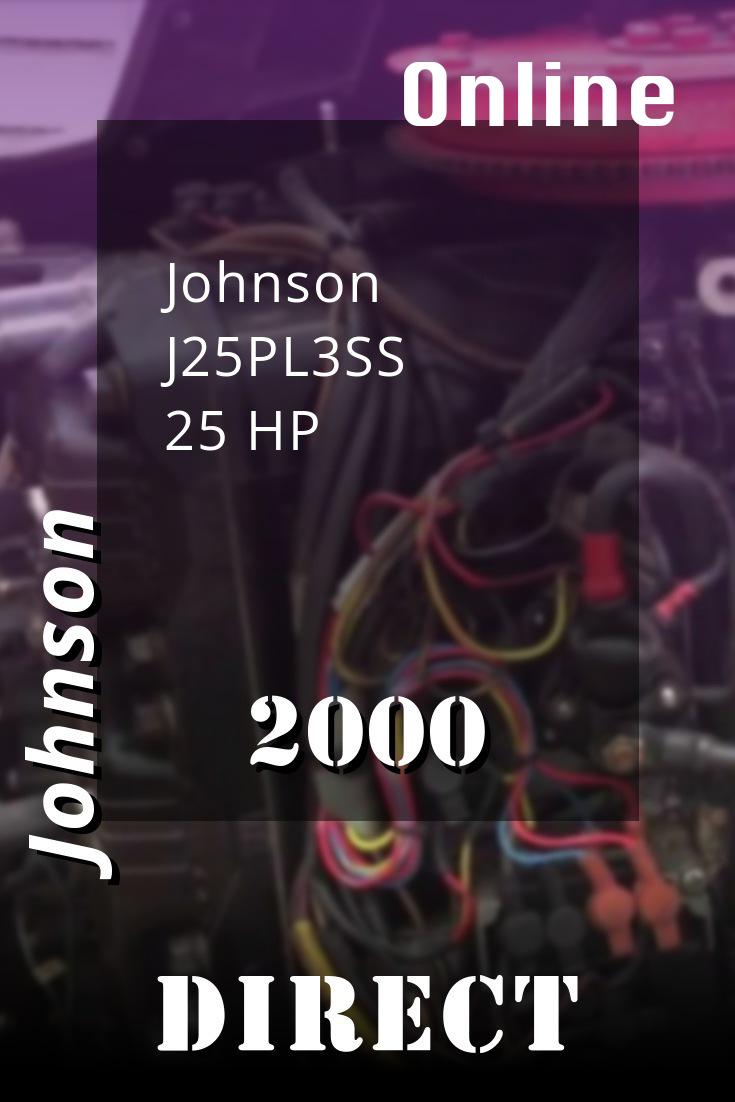 2000 J25pl3ss Johnson 25hp Outboard Motor Service Manual Download Outboard Repair Manuals Diy Repair