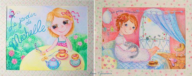 Cazadora de inspiración © Anna Tykhonova/Watercolors.