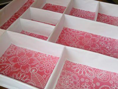 Borrones De Tinta: Organización de materiales