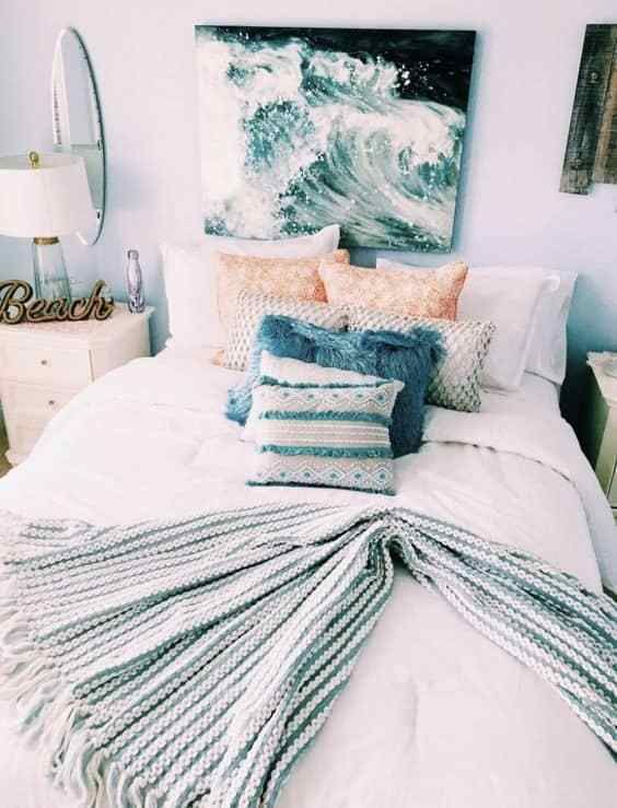The Beach Themed Dorm Room Ideas That Give Major Cali Vibes