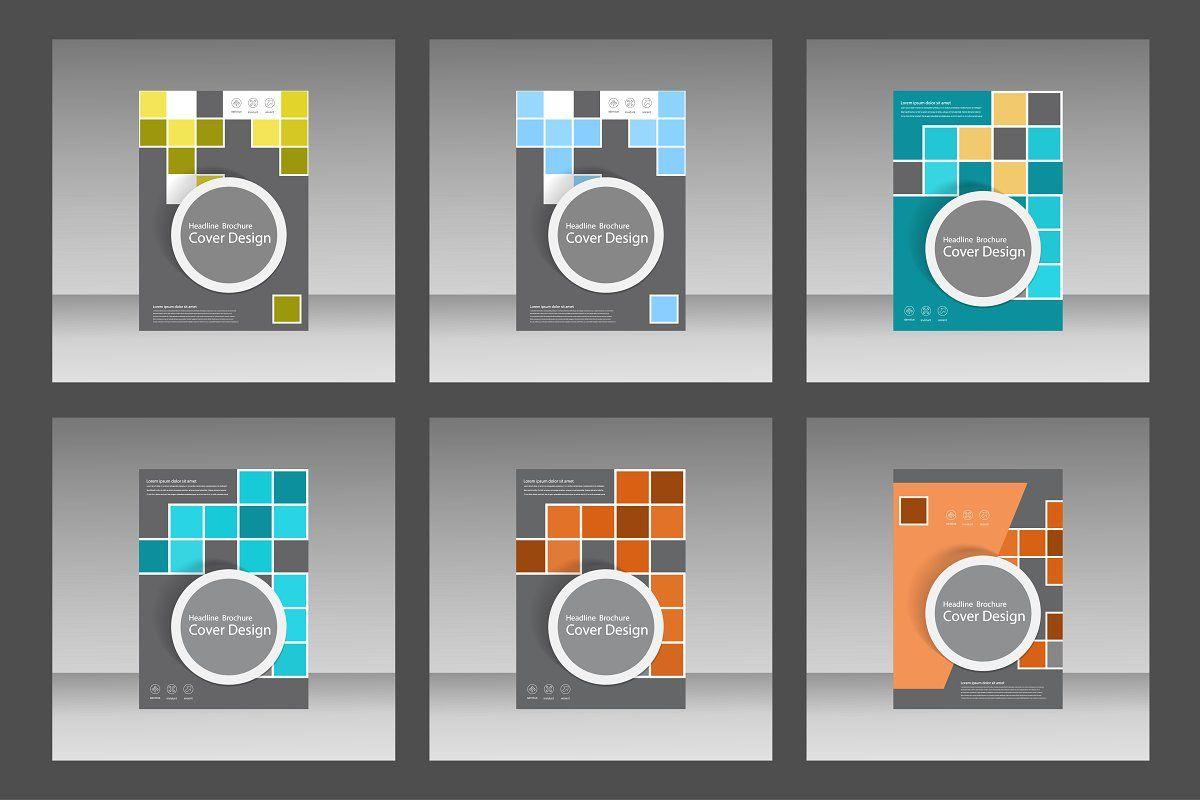 Brochure template design Vol.2 , #Sponsored, #includes#set#files#vector #affiliate