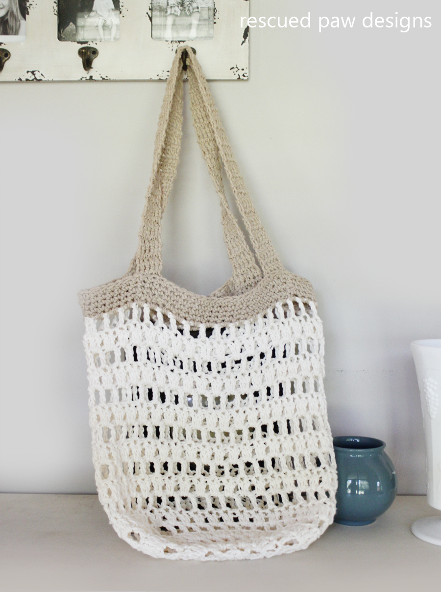 Market tote crochet bag tote bag crochet and patterns market tote bag crochet pattern from rescued paw designs diy fall crochet bankloansurffo Gallery