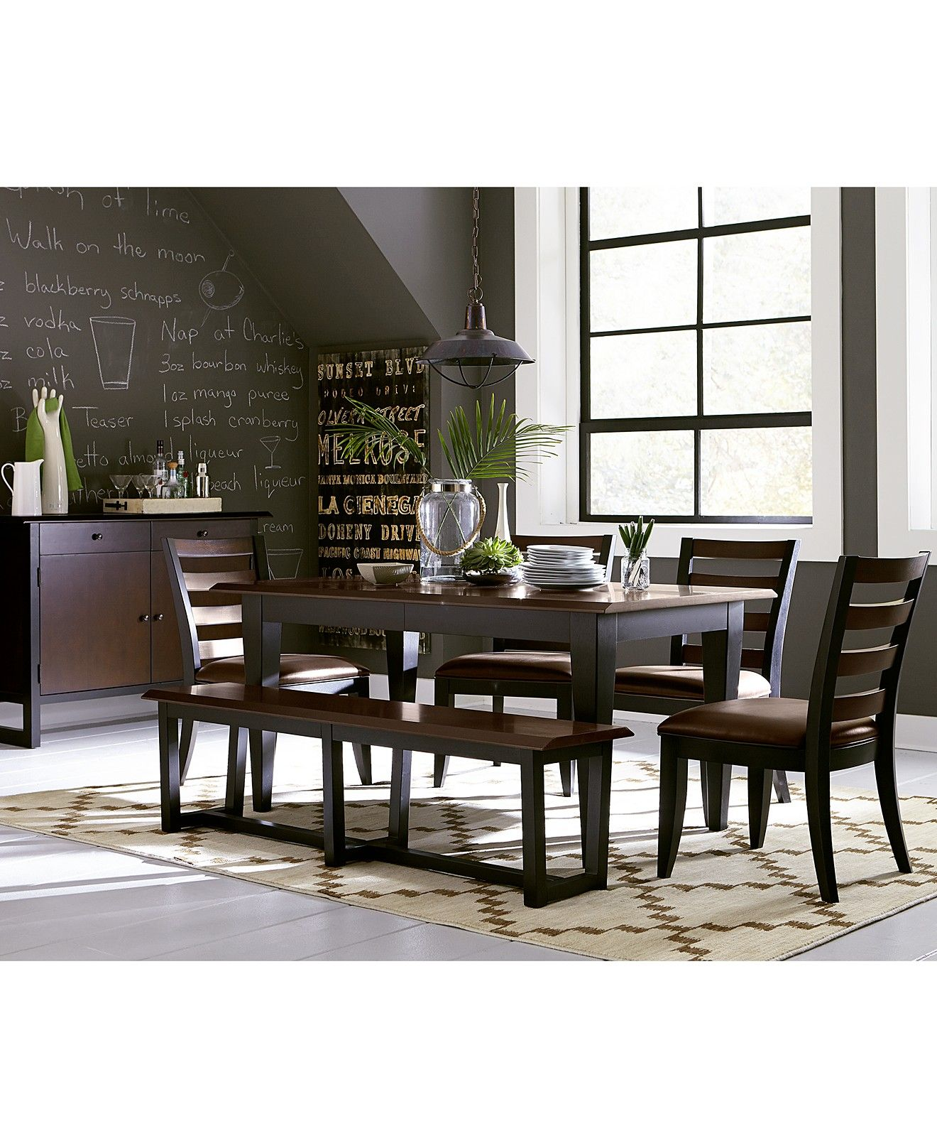west 4th dining room furniture collection - dining room