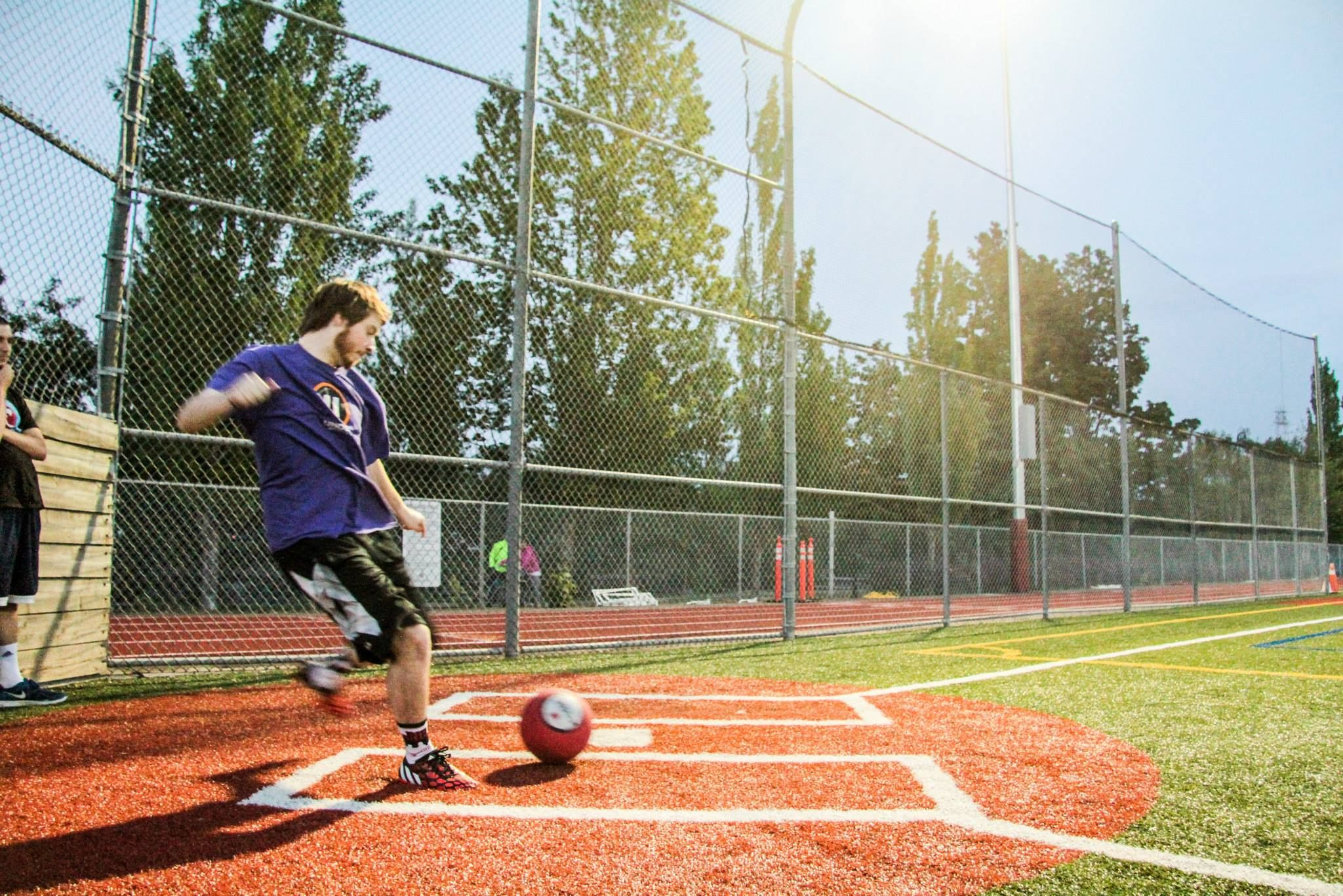 It S Kickball Season Indoor Volleyball Volleyball Recreational Sports