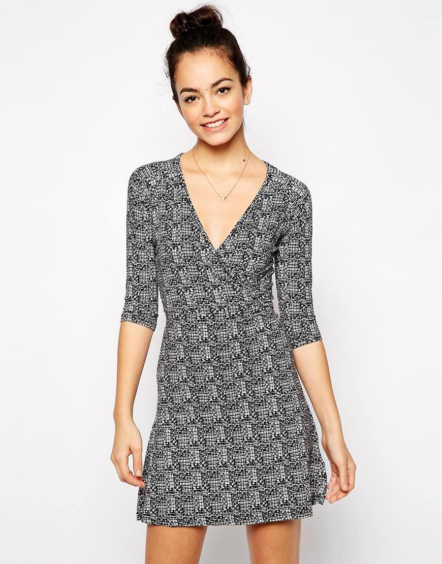 New Look Jersey Wrap Dress