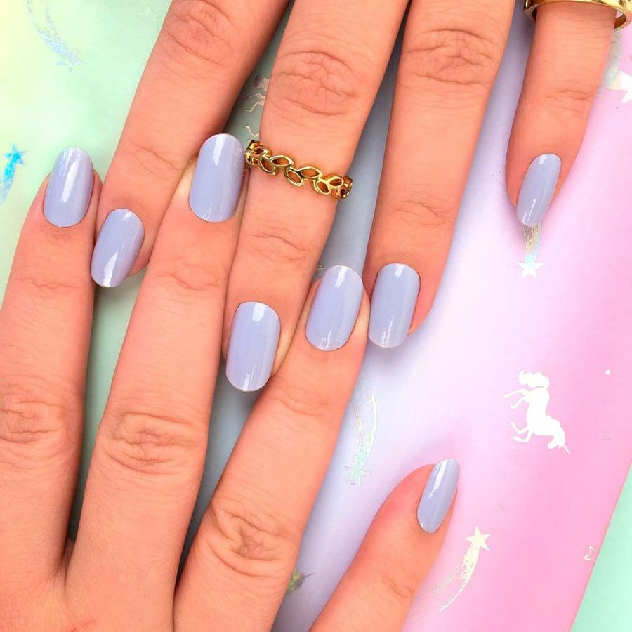 Windy City Color Street For A Gorgeous Neutral Try Pale Lilac Grey Windy City Nails Creme Finish Each Set Incl Nail Polish City Nails Color Street Nails