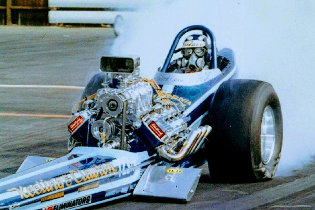 Rick Ramsey And The California Charger Fueler Car Was Always Show