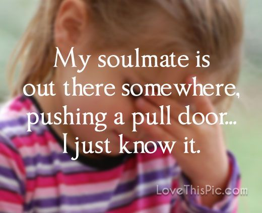 My soulmate love love quotes funny quotes quote soul mate ...