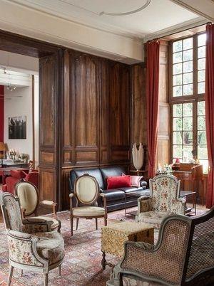 Salon au Château de la Ballue Ambiance au château Pinterest