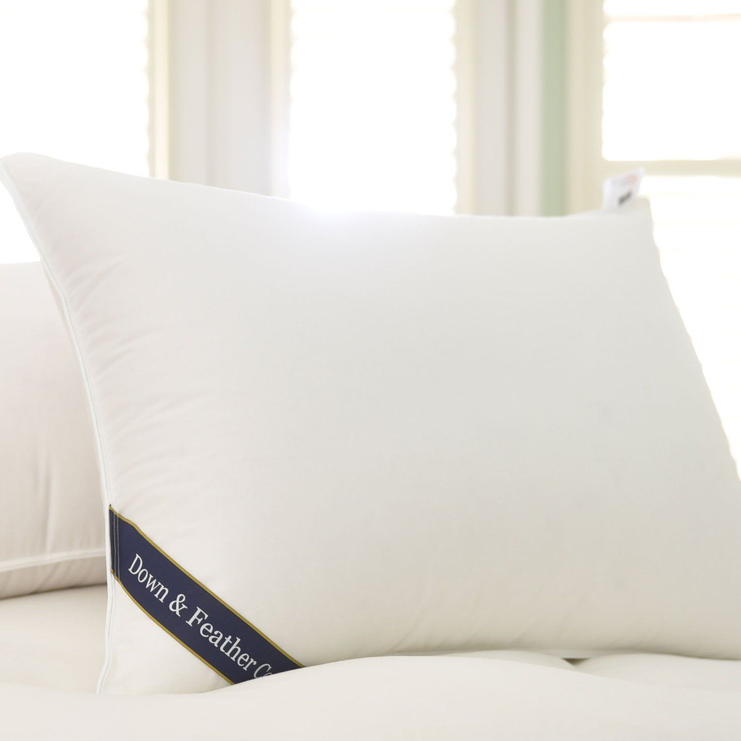 Amazon Snuggle Soft Goose Down Pillow King Size Extra