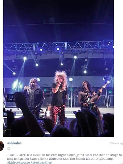 KR with Steel Panther in 80\'s style | Kid Rock Obsession | Pinterest
