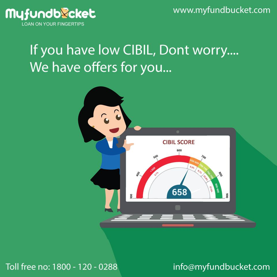 Easily Apply Loans Online With Low Cibil Score As Well Visit Https Www Myfundbucket Com Toll Free 1800 120 0288 Credit Scor Loan No Worries How To Apply