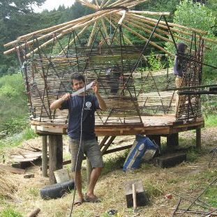 How to build a low cost diy yurt from sticks string and mud green how to build a low cost diy yurt from sticks string and mud green homes mother earth news solutioingenieria Image collections