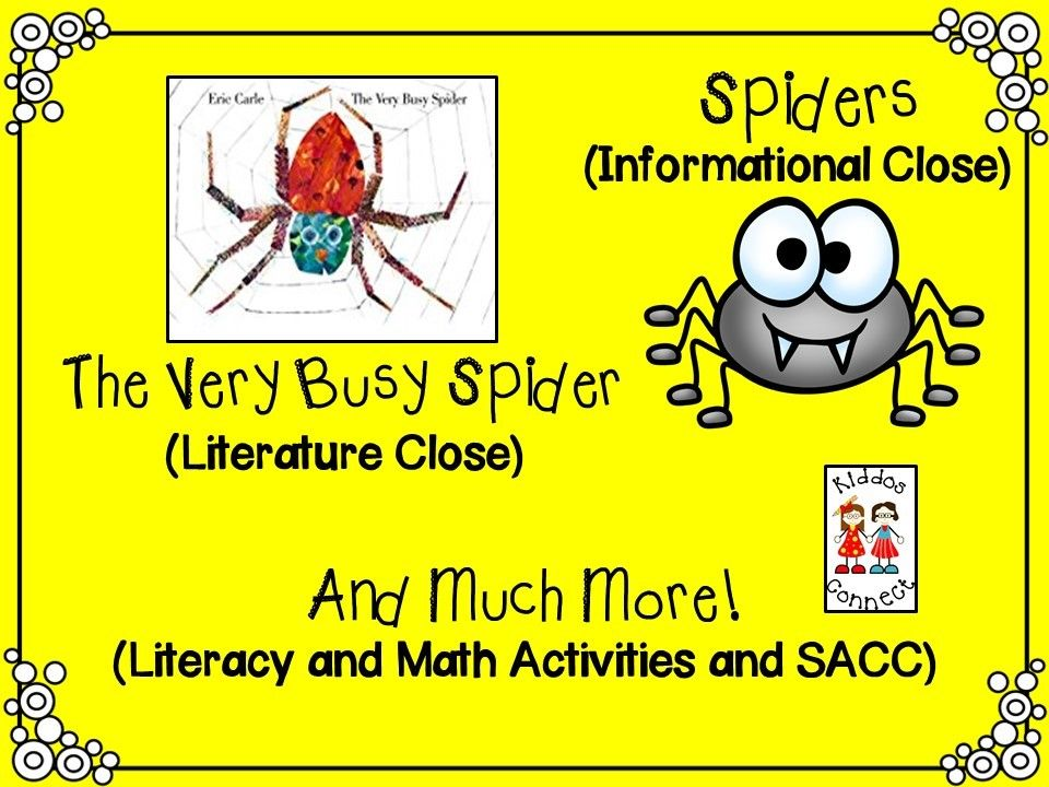 Close Reading on Spiders Informational (Spiders) and