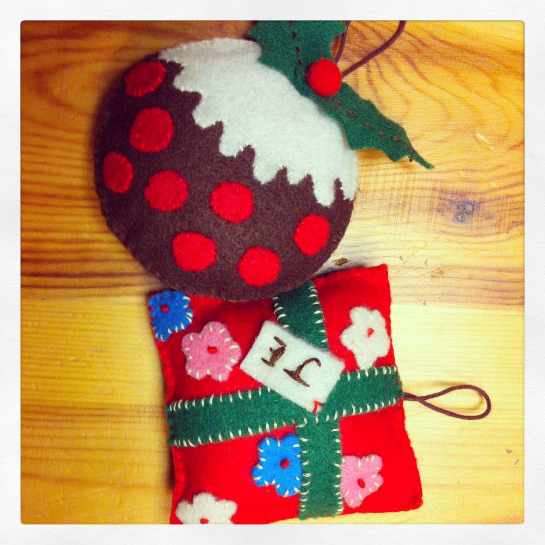 Kath Kidston Style Christmas Decorations