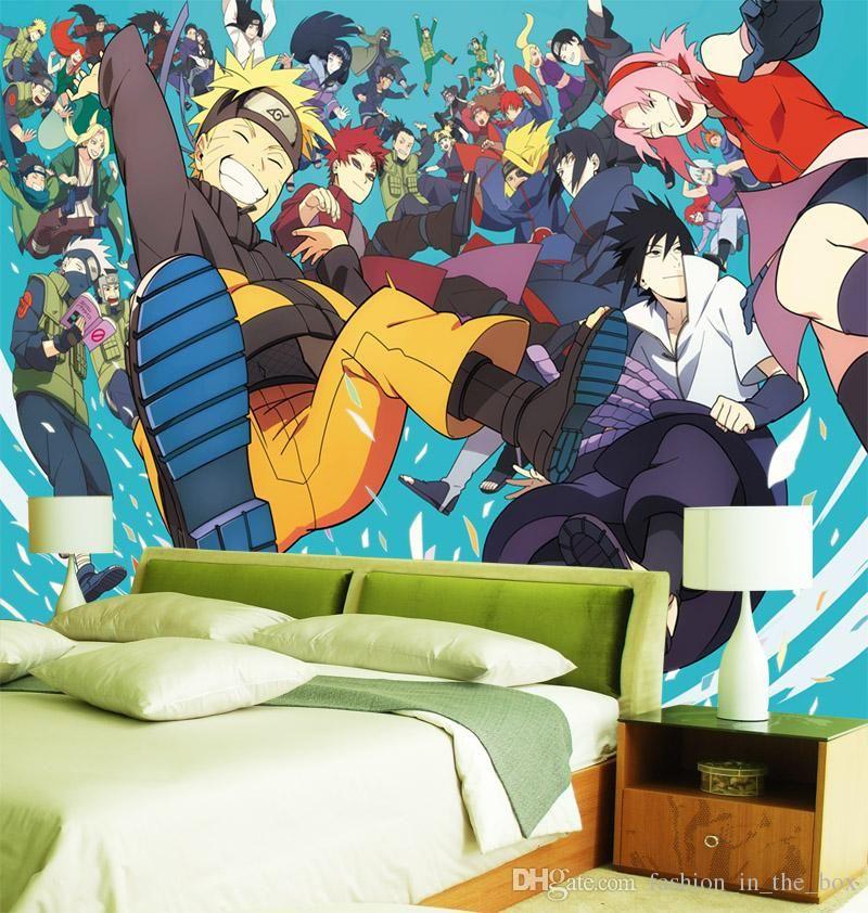 Custom 3d wallpaper naruto photo wallpaper japanese anime