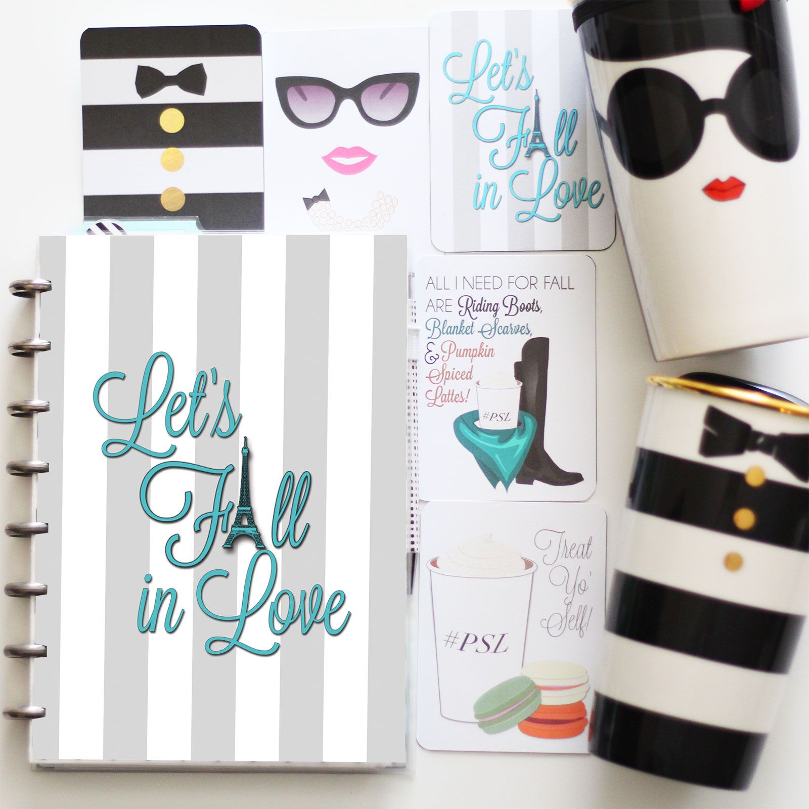 Fall is hereand for many of us planner girls, it also happens to be our favorite time of year! September brings that fresh start, back to school feel, embellished with sweet but spicy candle scents from Bath & Body Works, Pumpkin Spices Lattes from Starbucks and of course beautiful autumn accessories like riding boots and …