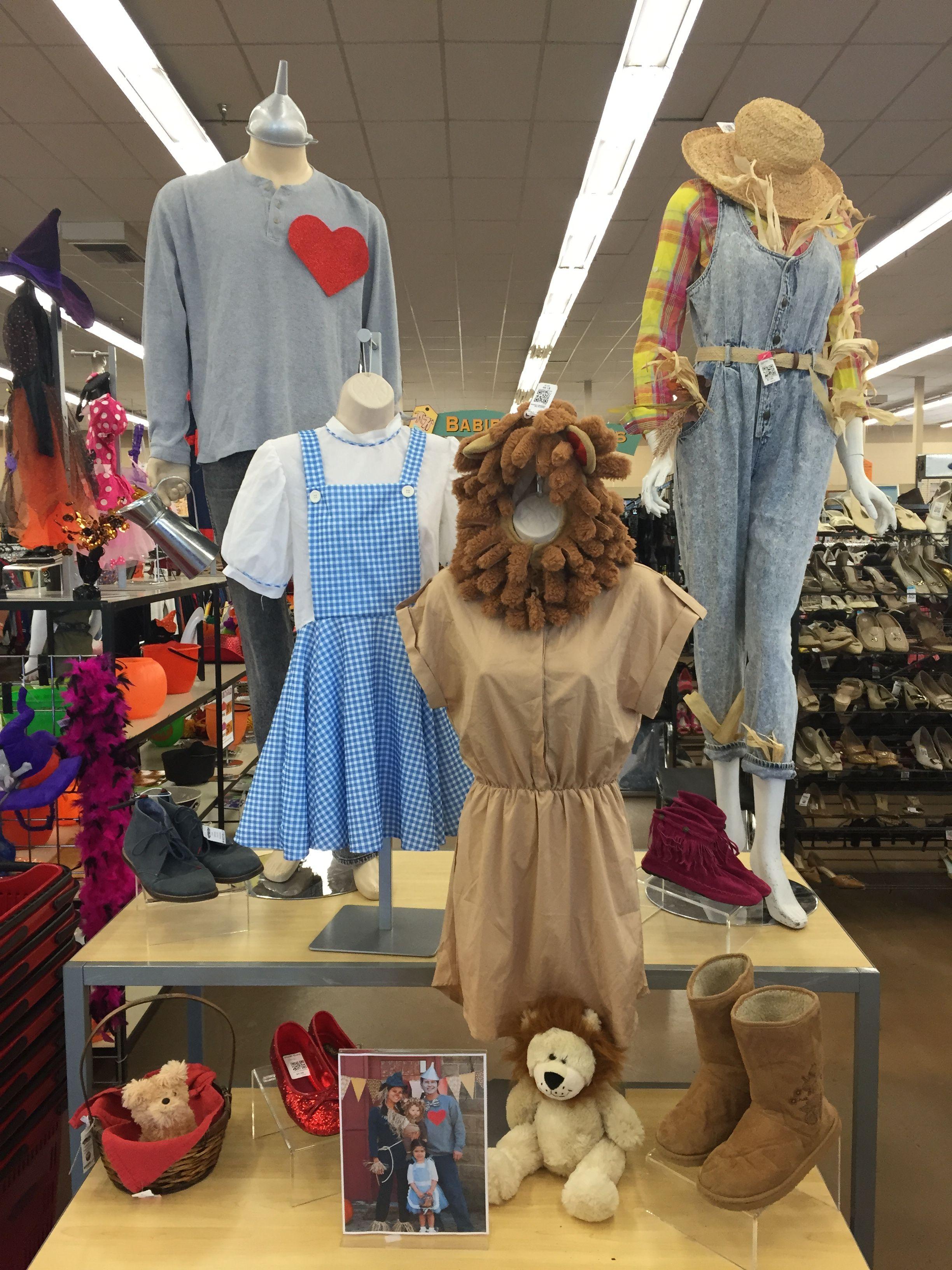 DIY Wizard of OZ Costumes