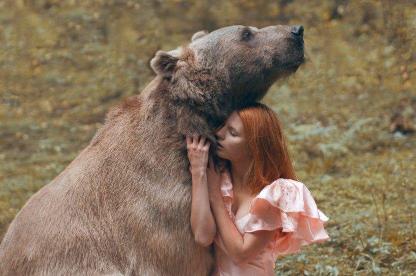 Katerina Plotnikova Y Su Increible Sesion Fotografica Con Animales