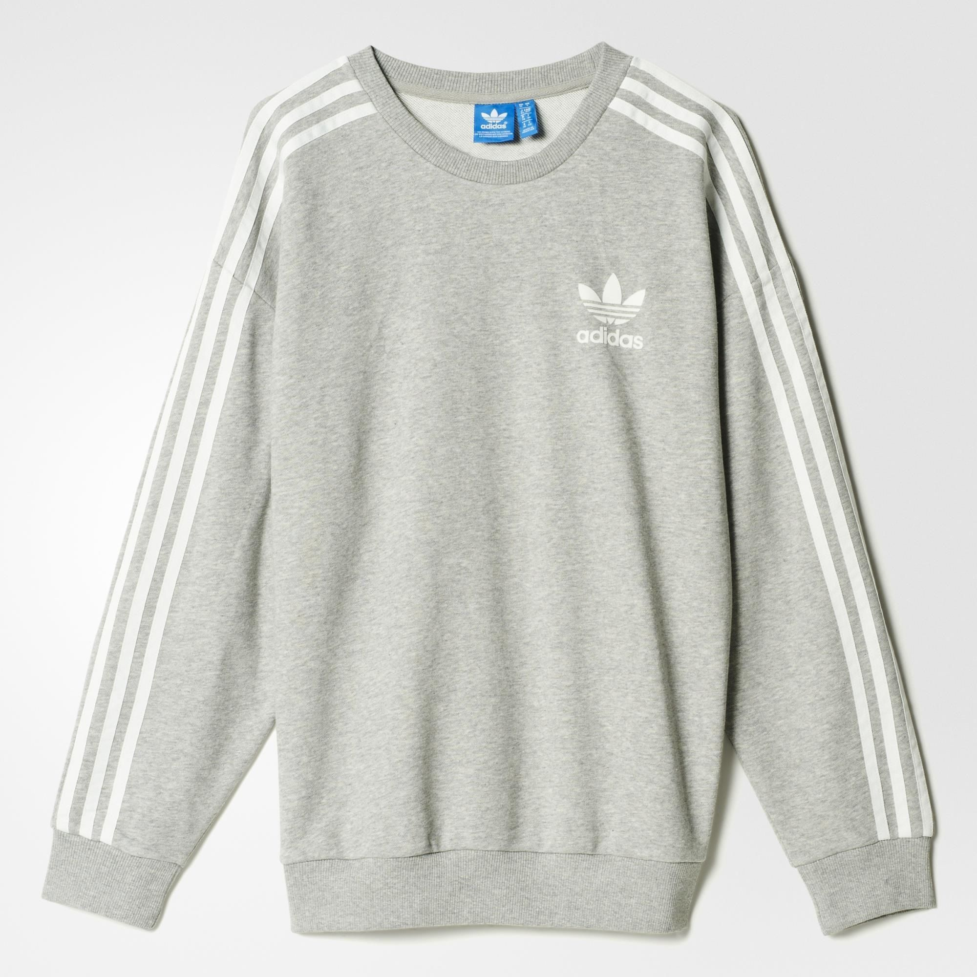 adidas beckenbauer sweatshirt grey adidas us. Black Bedroom Furniture Sets. Home Design Ideas