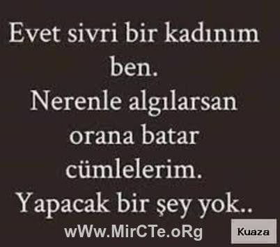 2016 Igneleyici Sozler Laf Sokan Sozler Agir Abi Sozler Ben Sozumu Cool Words Turkish Quotes Words
