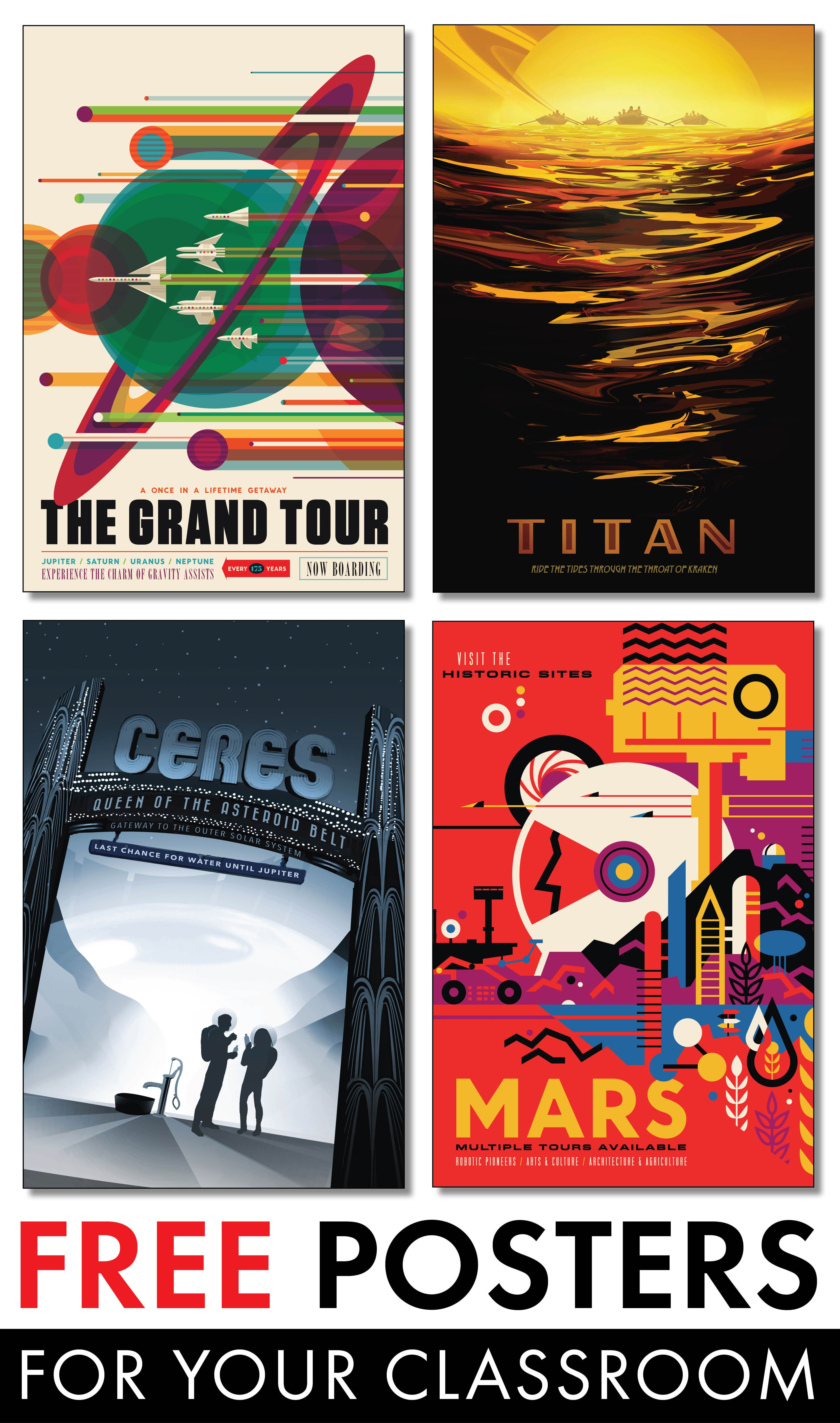 free science posters