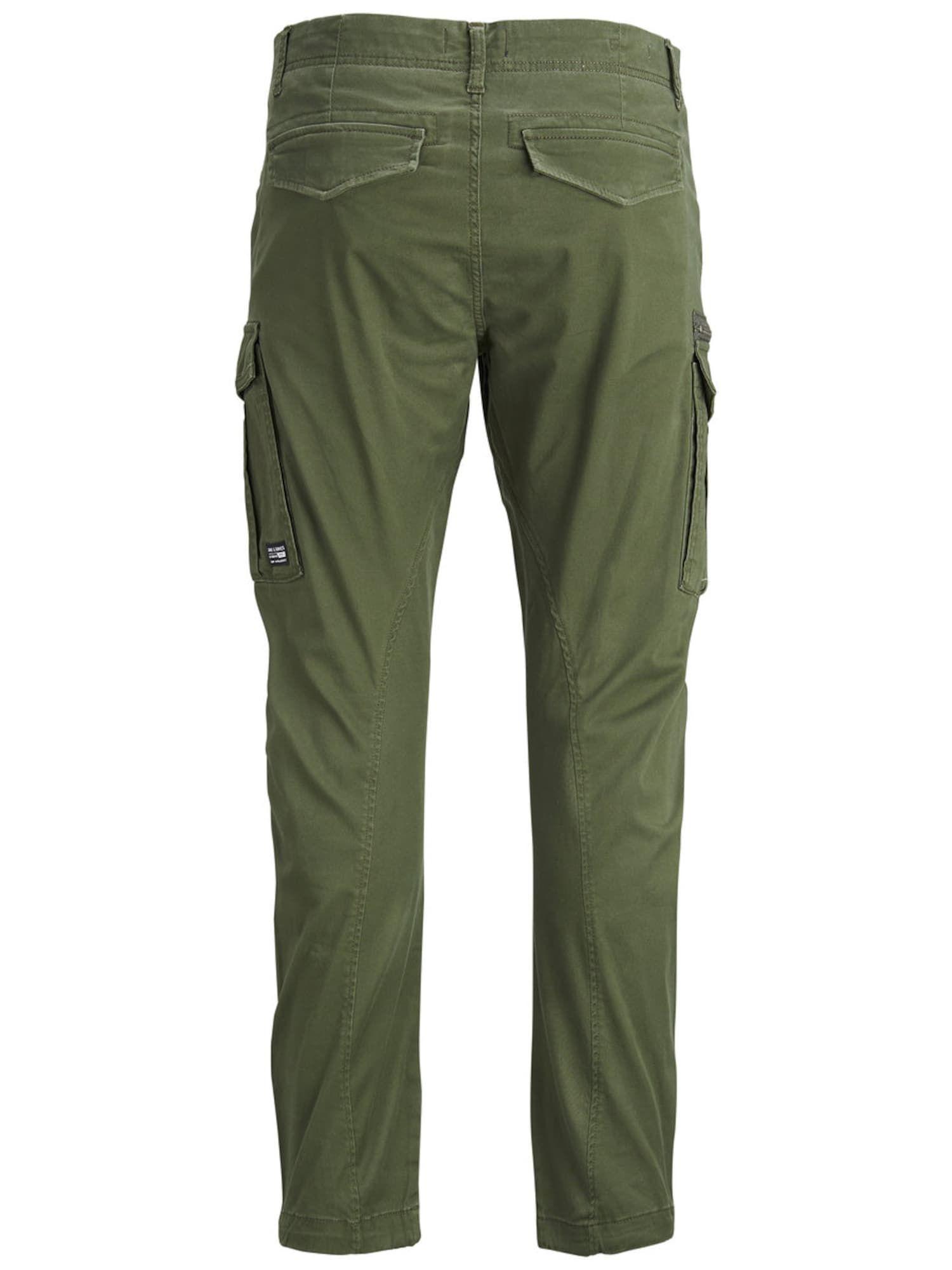 JACK & JONES Chino 'DRAKE CHOP AKM 574' in grasgrün #jeansplus