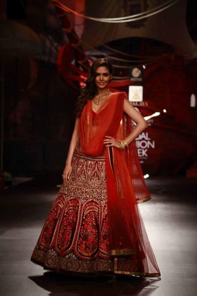 J J Valaya India Bridal Fashion Week 2013