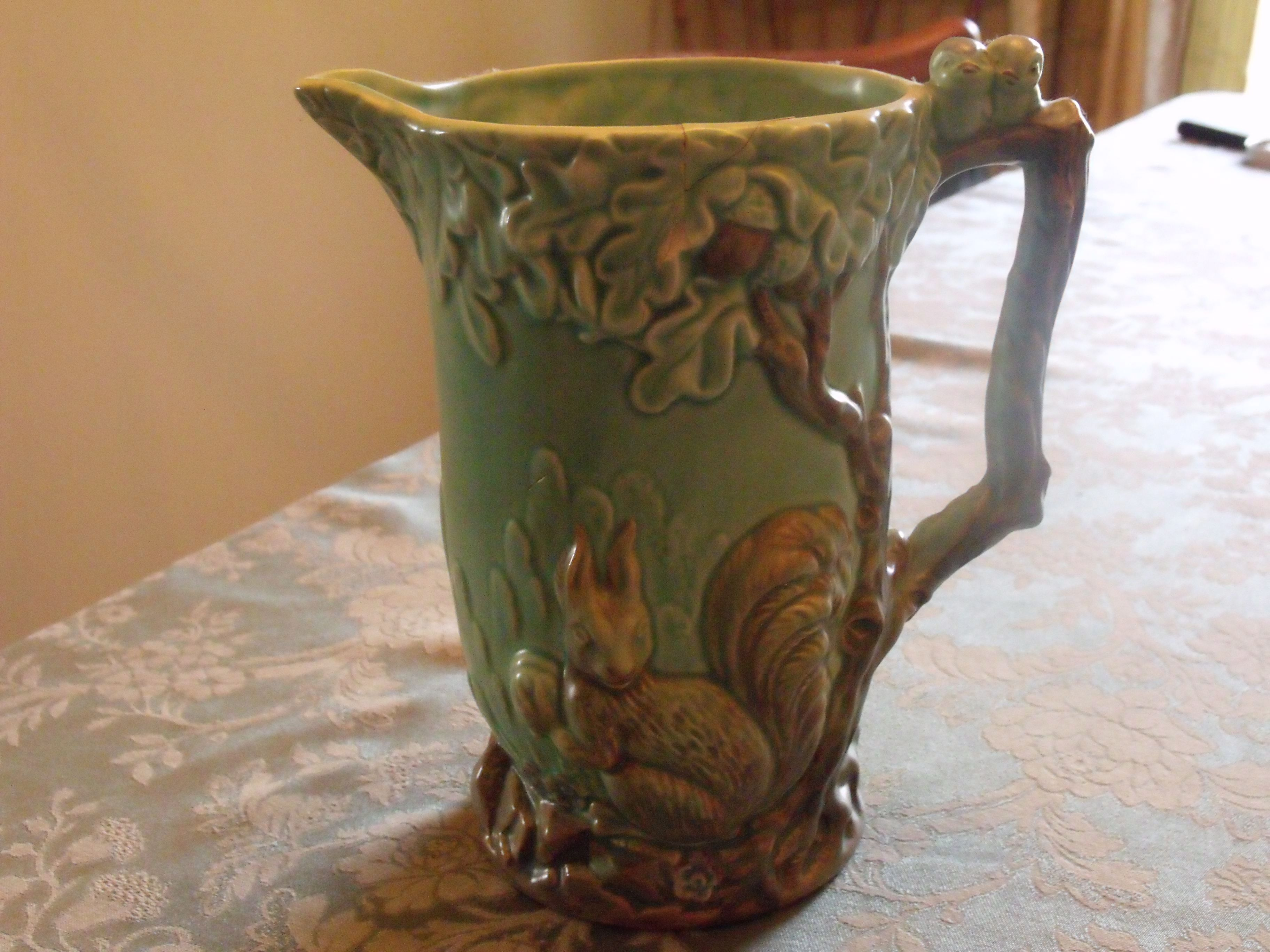 Whimsical squirrel jug by flaxman wade heath england 1930s pottery reviewsmspy