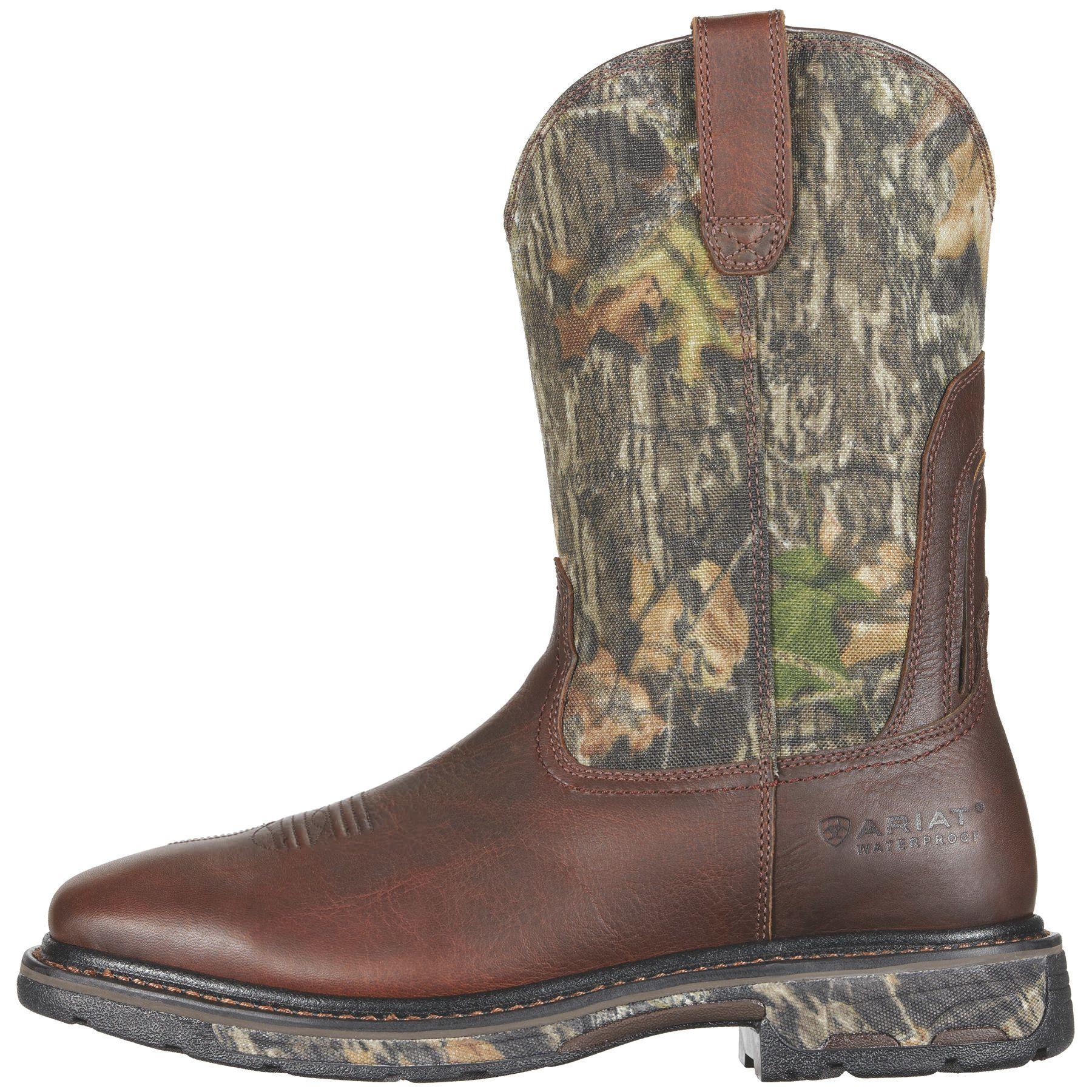 Workhog Wide Square Toe Waterproof Steel Toe Work Boot Steel Toe Work Boots Steel Toe Boots