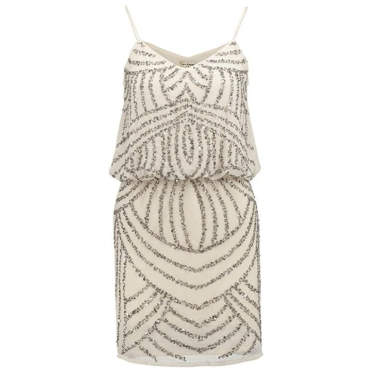MAPLE JEMMA - Cocktailkleid / festliches Kleid - beige by Lace ...