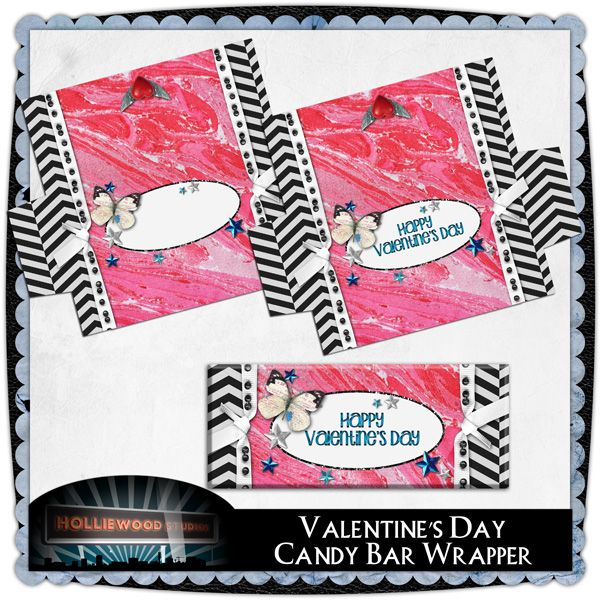 Free printable valentine39s day candy bar wrapper for Valentine candy bar wrapper templates