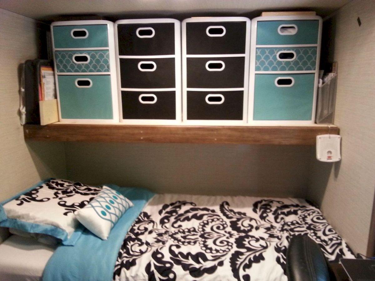 RV Bedroom Organization Camper organization travel