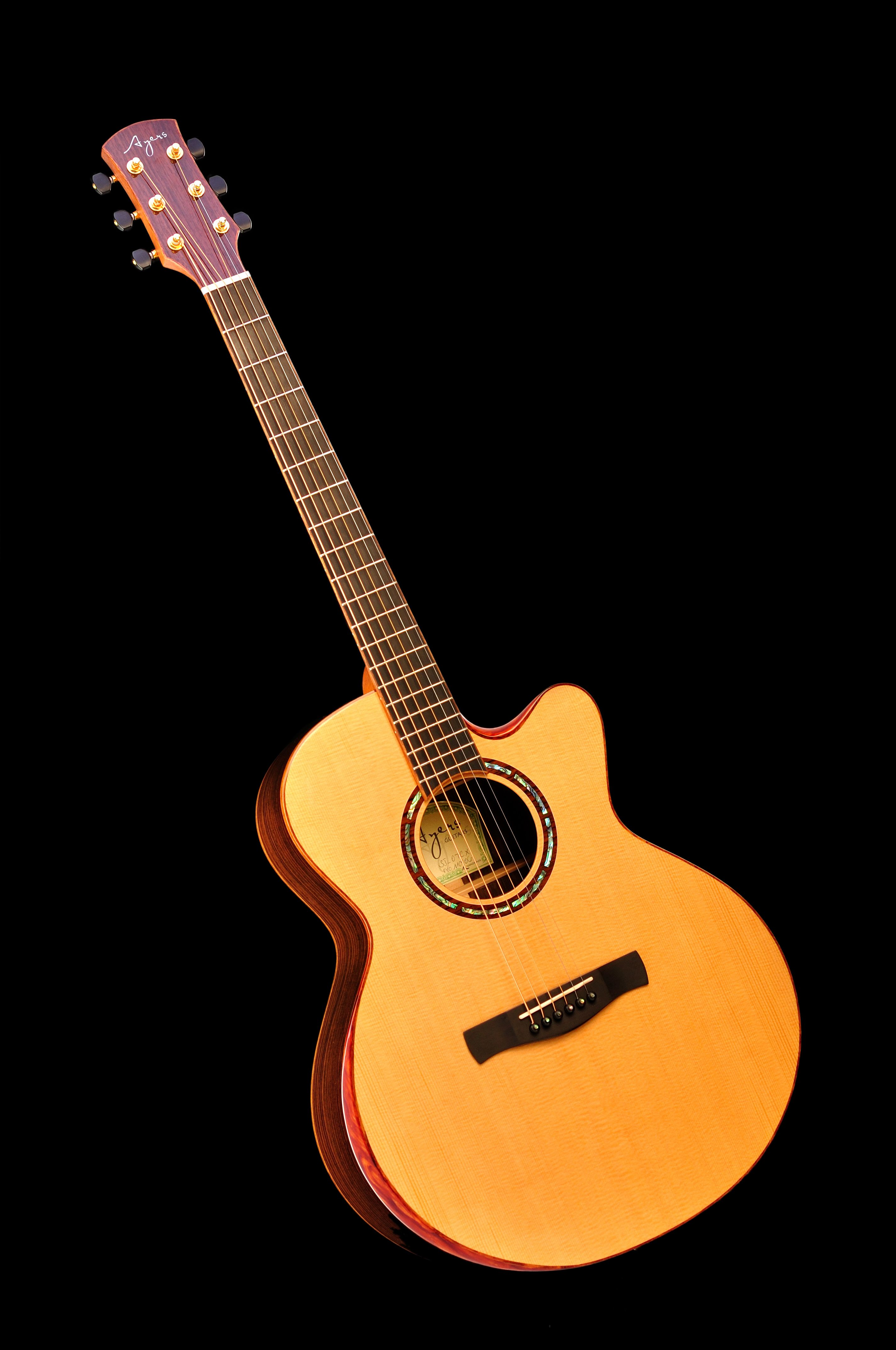 Ayers Guitar Canada Premium Series 07 SJ-07CX Small Jumbo with ...