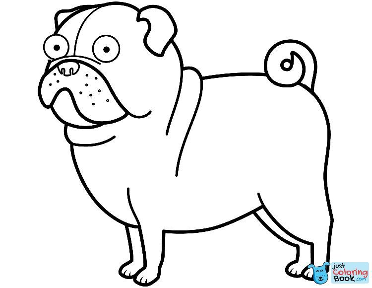 Pug Dog Coloring Page Free Printable Coloring Pages In Funny Pug In Dragon Costume Coloring Pages Paginas Para Colorir Circo Para Colorir Balao Para Colorir