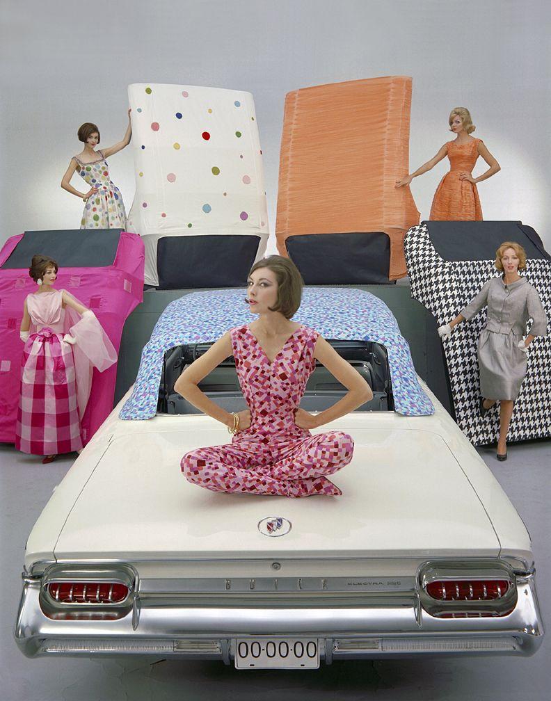 Custom 'Mod Tops' concept for the 1961 Buick Electra 225 Convertible - GM Design Center photo shoot.