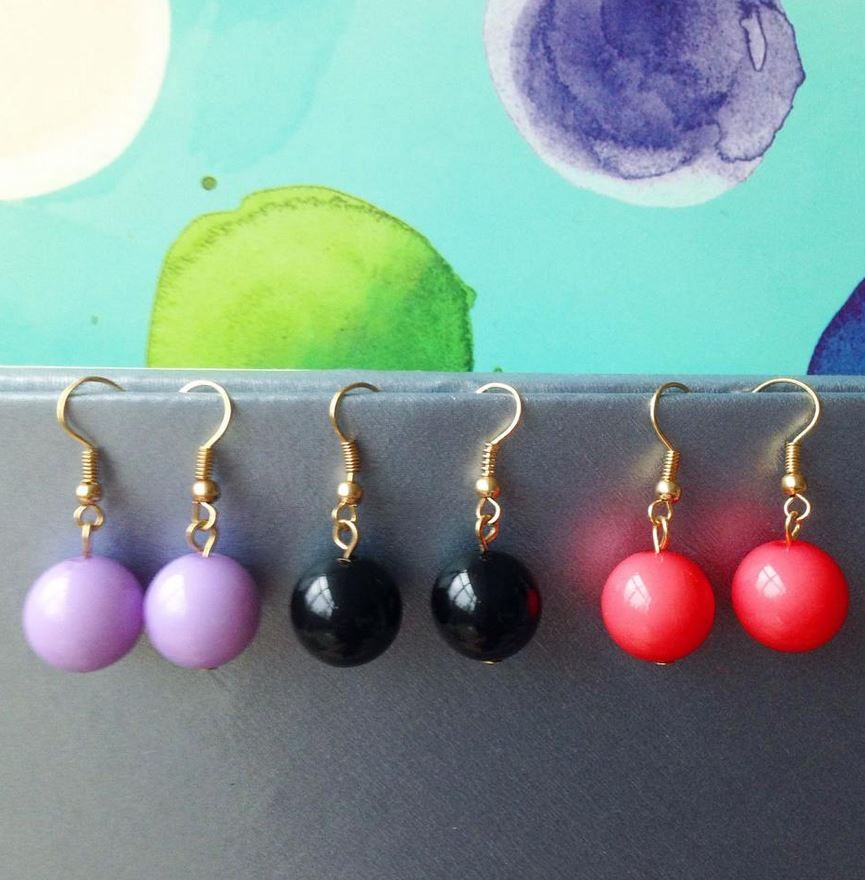 Gumball Earrings from Mint and Lolly. Get it with Free shipping