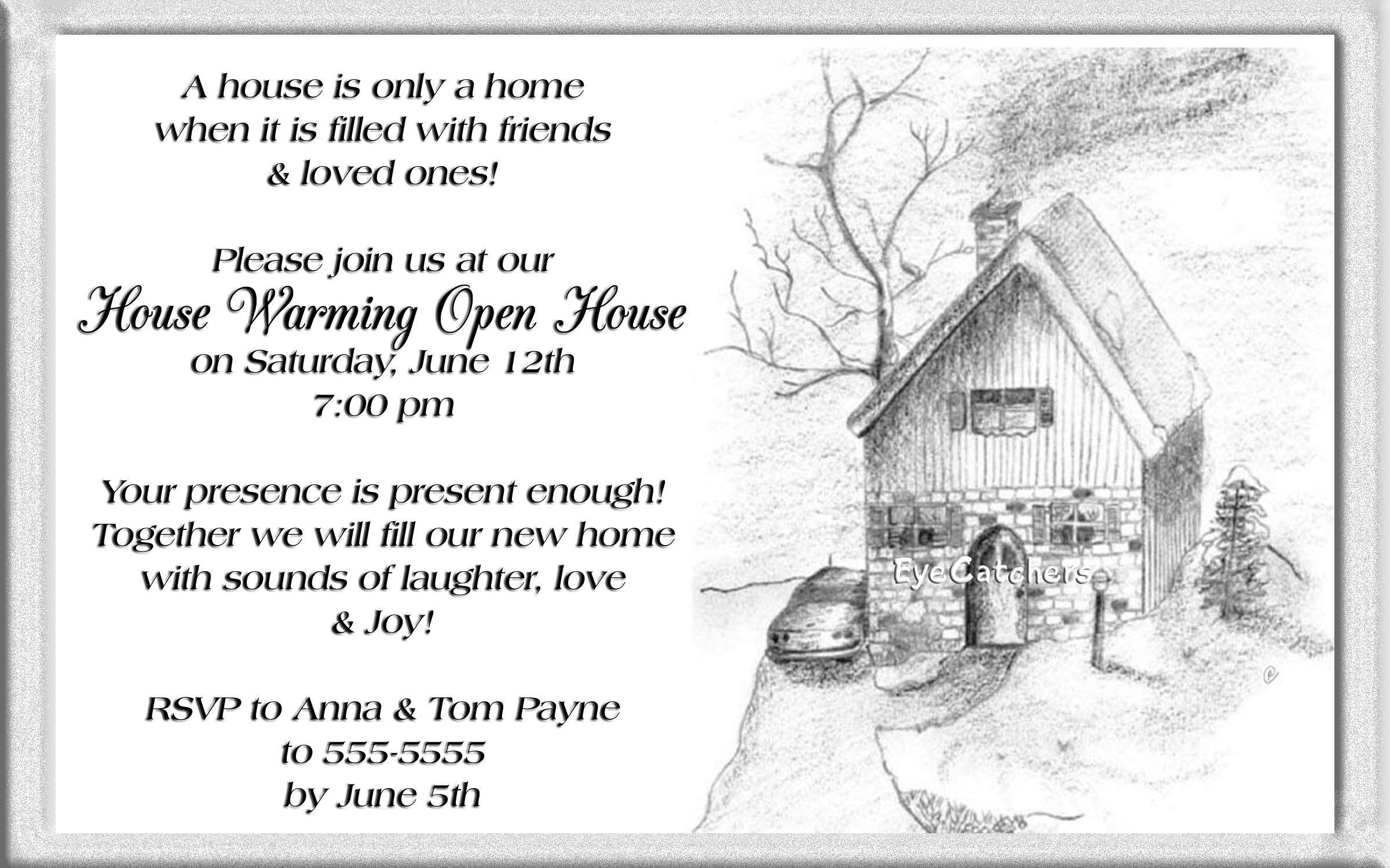 Christmas Open House Invitations Wording  If Purchasing Multiple