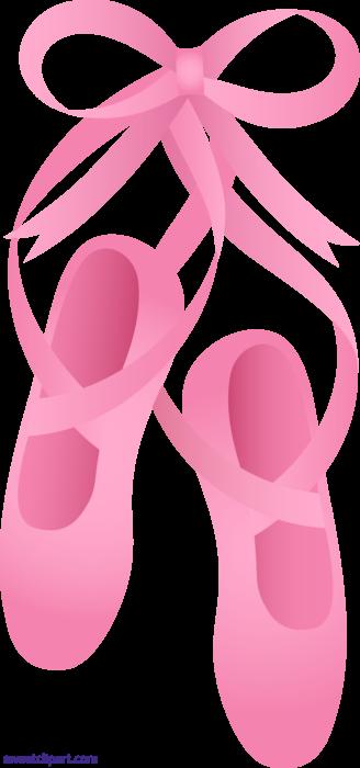Ballet Slippers Clipart Free Clip Art Ballerina Pink Ballet Shoes