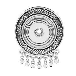 Product # S0544 Montage Pendant/Pin  Montage Pendant / Pin. Holds 18mm Original Snaps. Price: $21.99