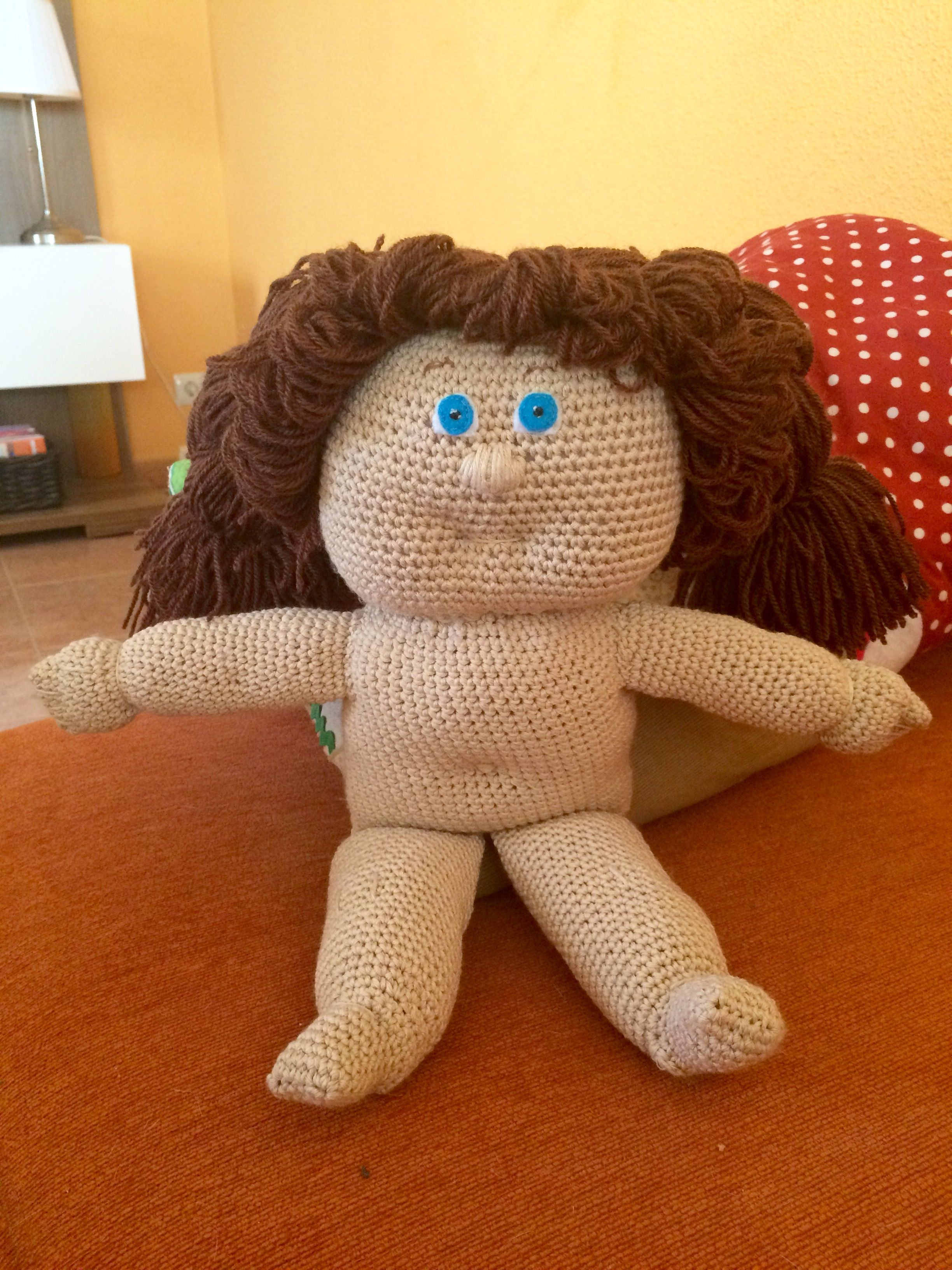 Cabbage patch kids doll crochet  34555a59e95