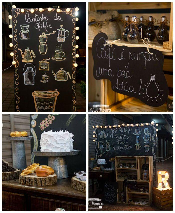 Rustic Tea Coffee Shop Birthday Party Karaspartyideas Com Coffee Party Coffee Shop Birthday Parties