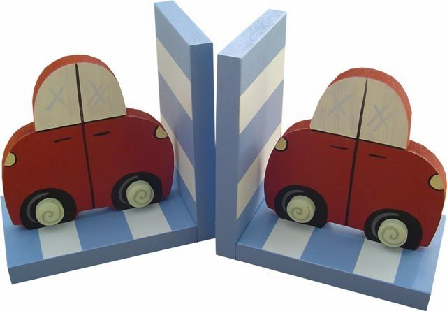 Car Bookends and decor at Jack and Jill Boutique