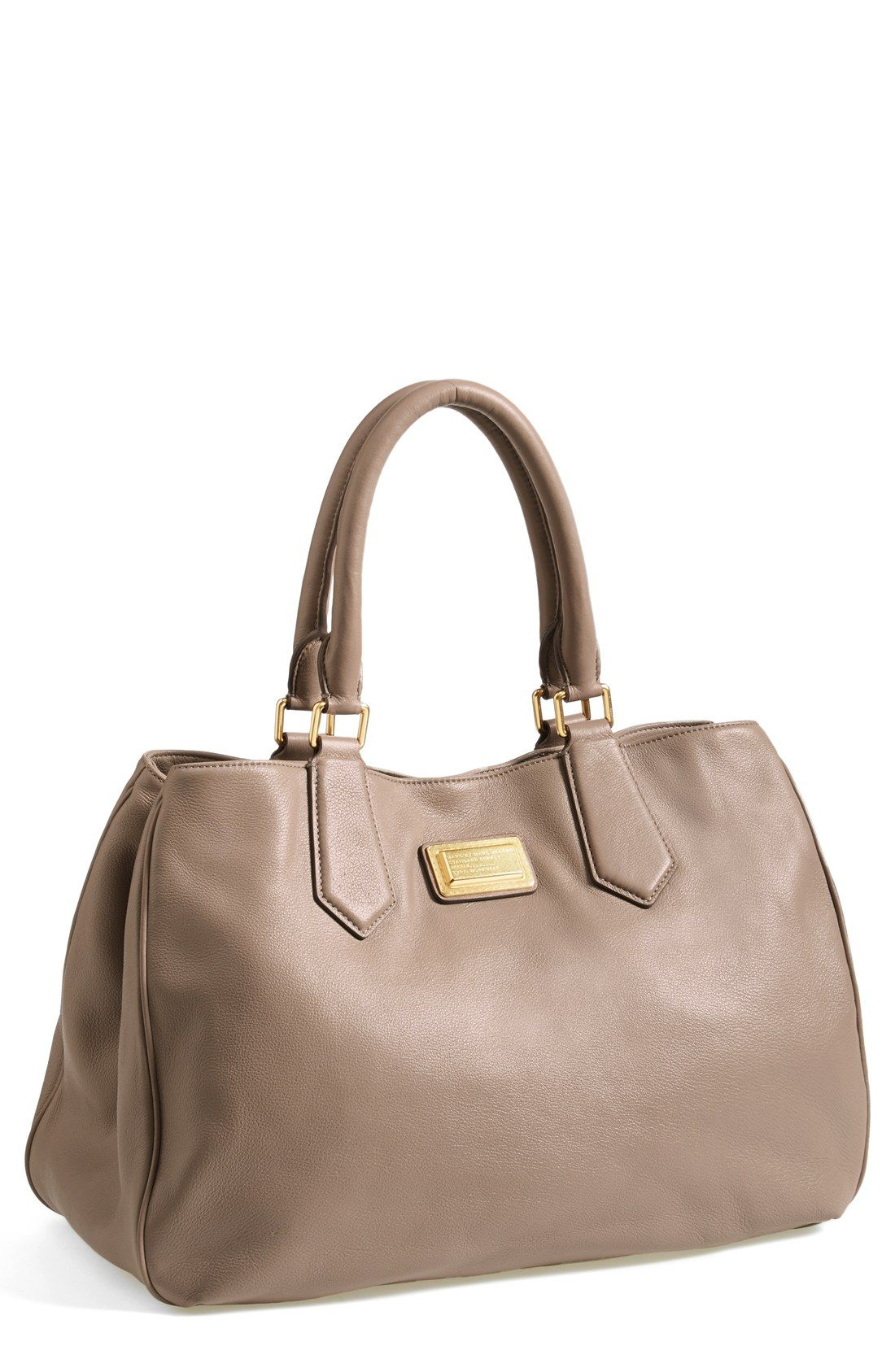 Leather Tote Marc Jacobs | ✿iBAG gauge!✿ | Bags, Purses
