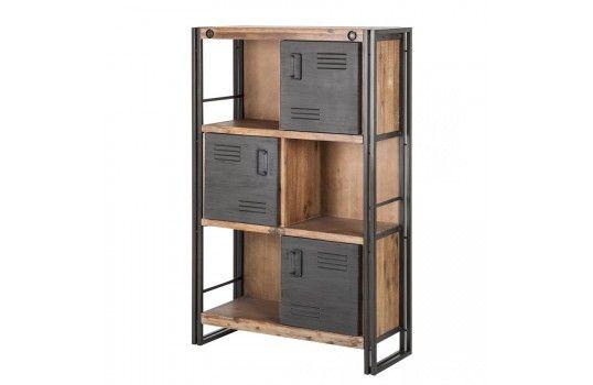 Pingl par mobilier nitro sur meuble de rangement pinterest furniture industrial furniture - Meubles nitro ...