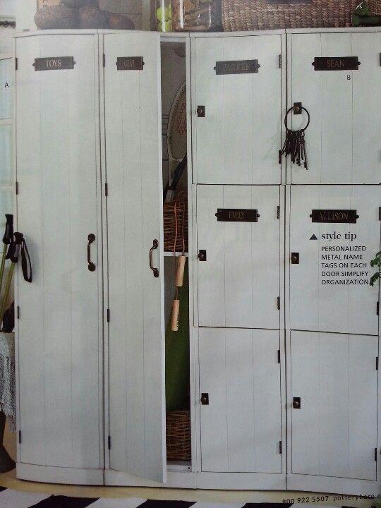 Pottery Barn Lockers Mudroom Locker Storage Lockers