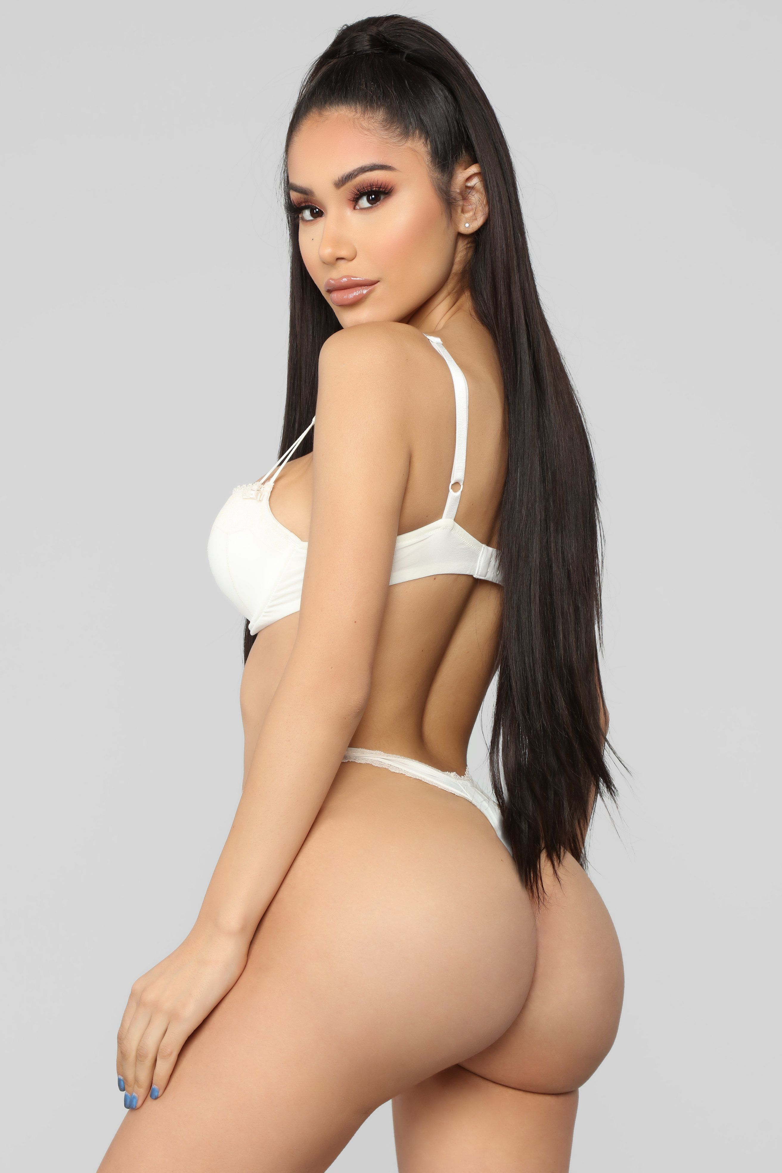 See You Tonight Lace Panty Ivory in 2019 booty